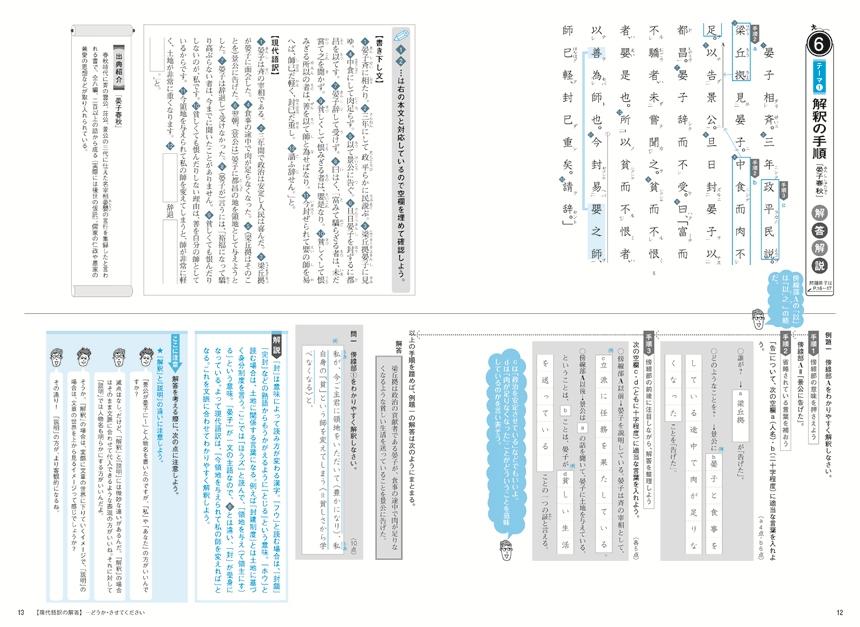 基礎からの総合トレーニング古典3漢文記述編「問題1」