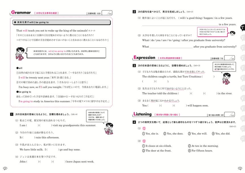 声に出す英語総合演習 vol.1:解答バラ版「」