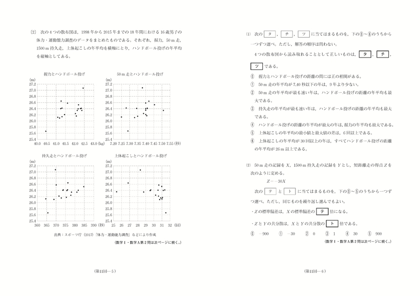 進研[センター試験]対策数学 数学�T・A 30分演習12回版[改訂]解答バラ「問題」