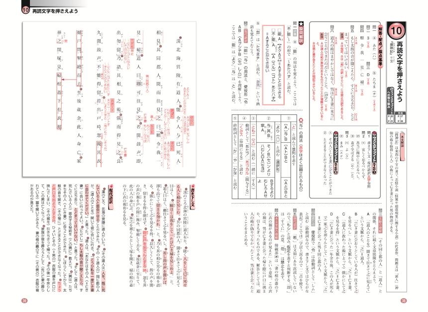 進研WINSTEP 古典2[三訂版]:冊子版「問題1」