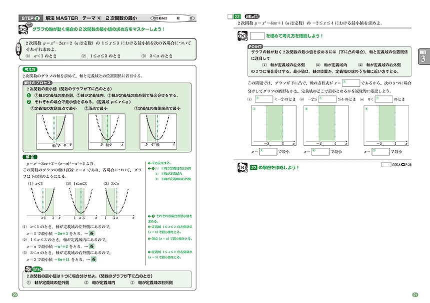 進研WINSTEP 短期集中 高1数学 Vol.1(7月模試に向けて)[改訂版]「問題1」